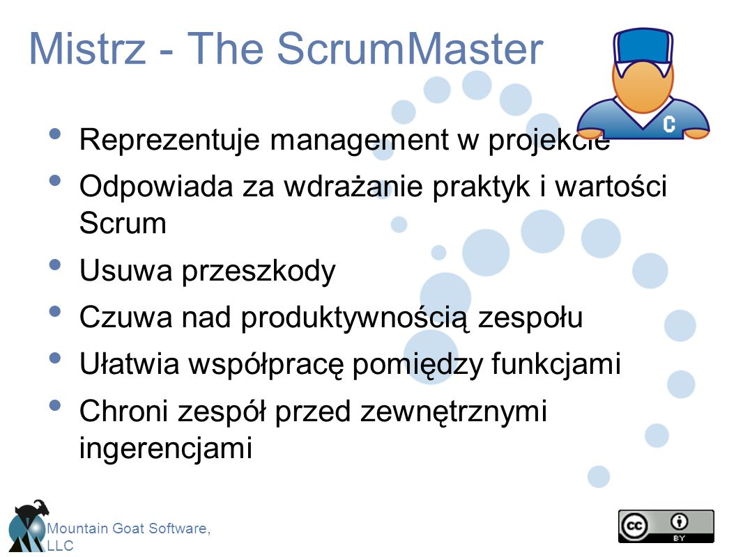 Mistrz - The ScrumMaster