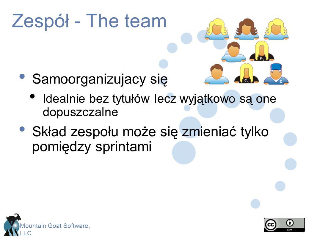 Zespół - The team Samoorganizujacy się