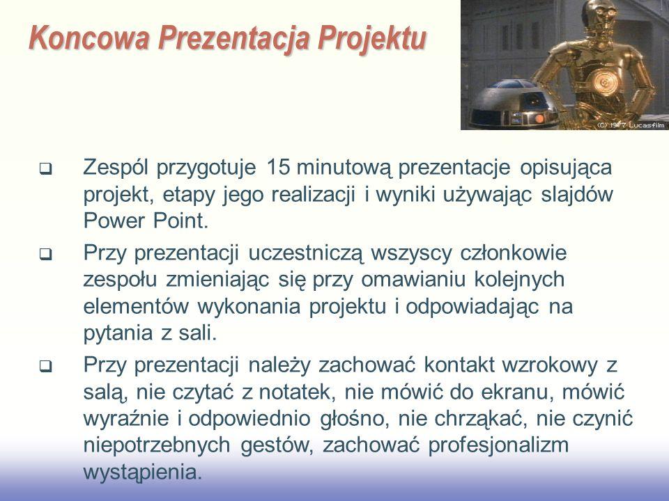 Koncowa Prezentacja Projektu