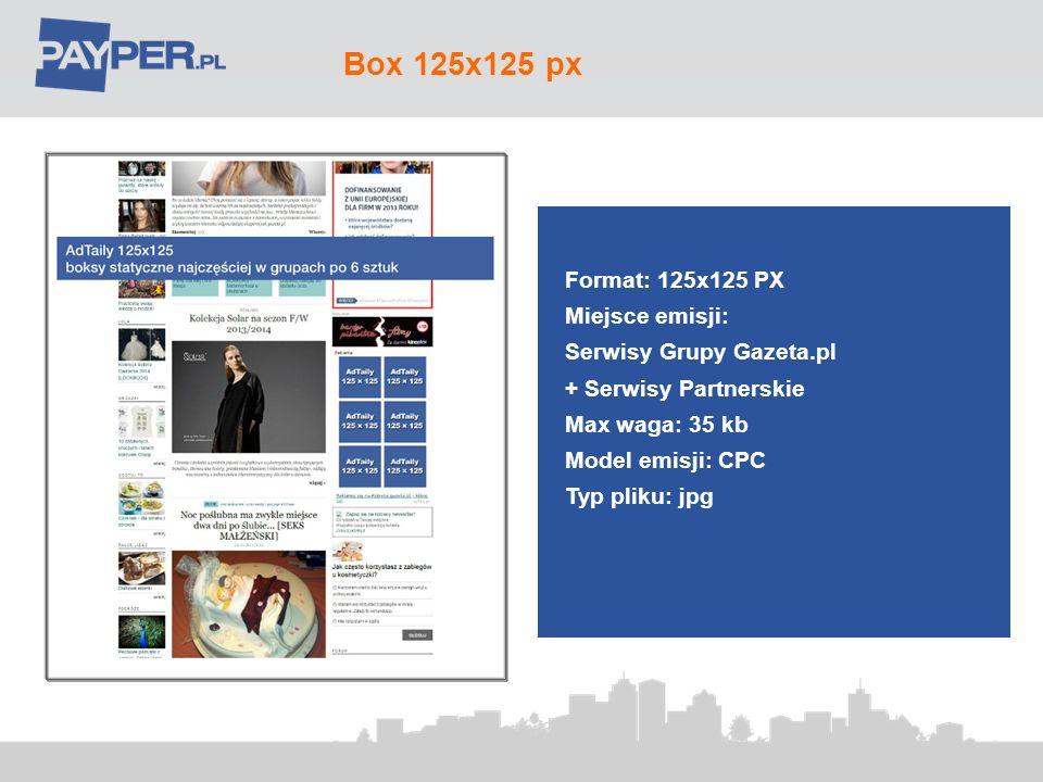 Box 125x125 px Format: 125x125 PX Miejsce emisji: