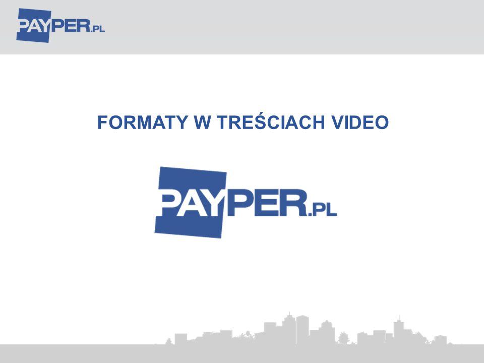 FORMATY W TREŚCIACH VIDEO