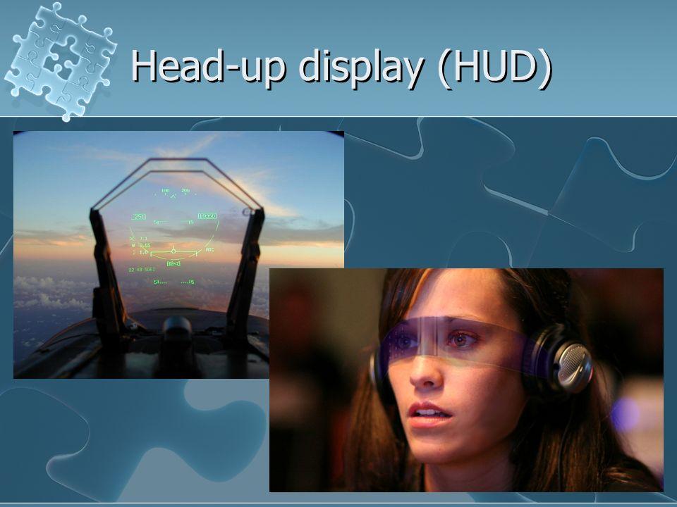 Head-up display (HUD)