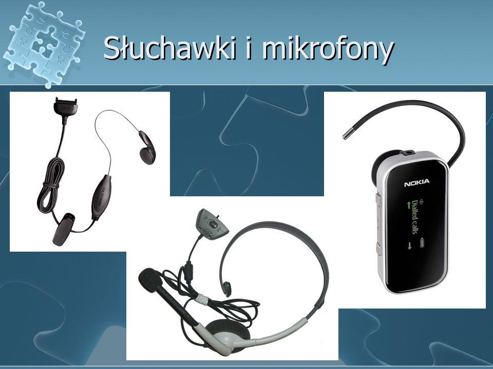 Słuchawki i mikrofony