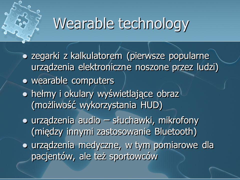 Wearable technology zegarki z kalkulatorem (pierwsze popularne urządzenia elektroniczne noszone przez ludzi)