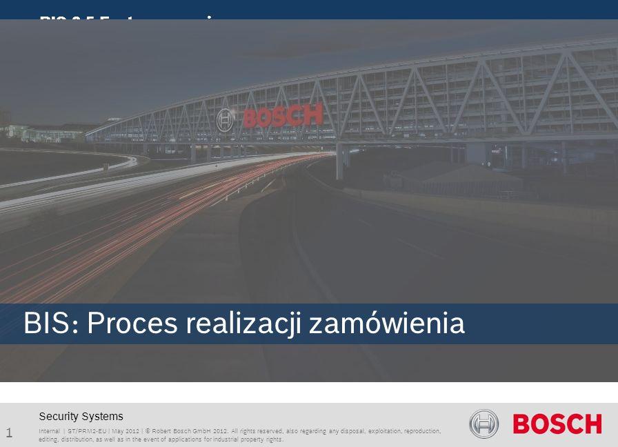 BIS: Proces realizacji zamówienia