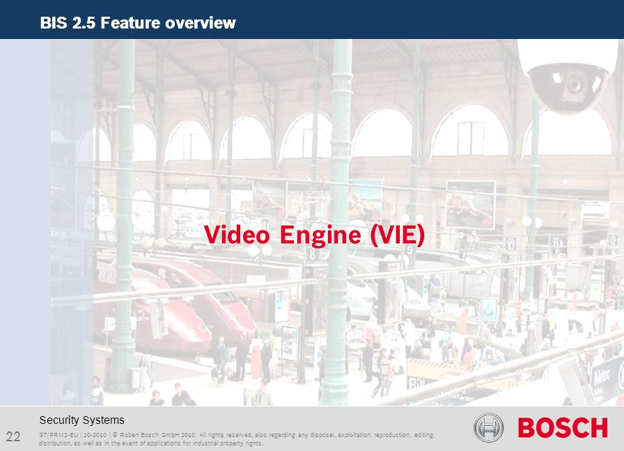 Video Engine (VIE) Security Systems