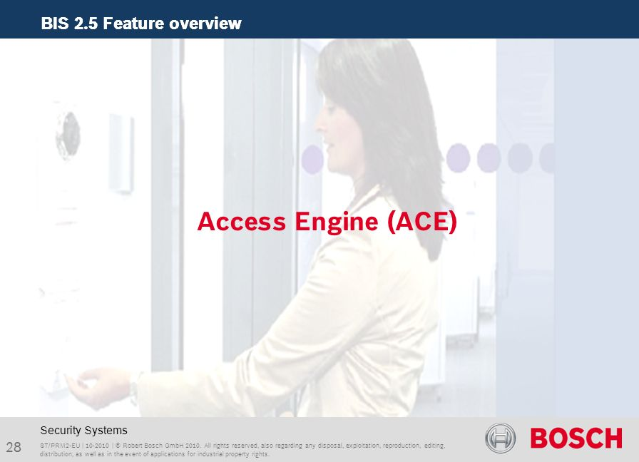 Access Engine (ACE) Security Systems