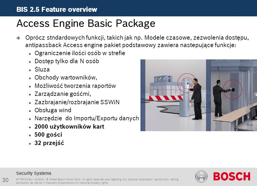 Access Engine Basic Package