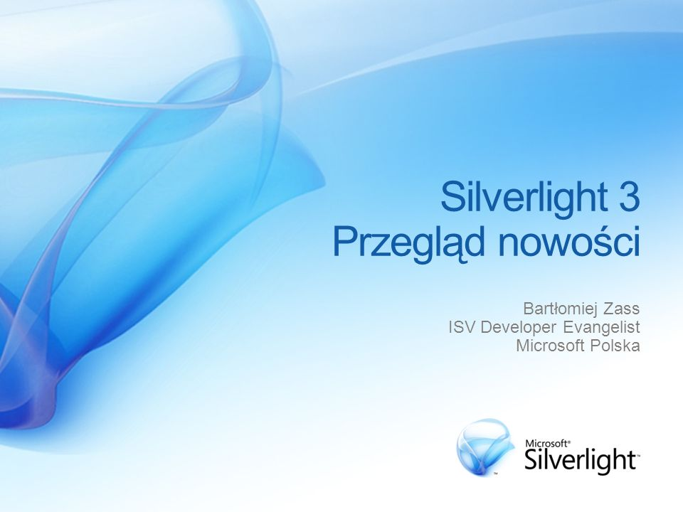 Silverlight 3 Przegląd nowości