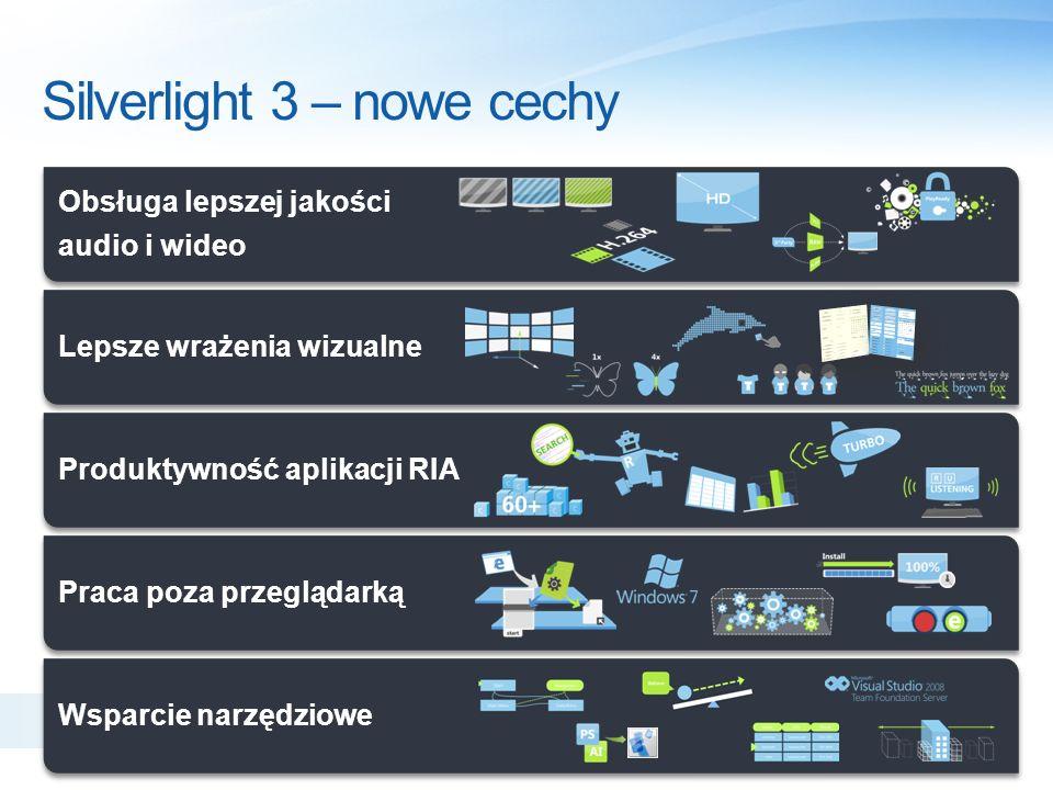 Silverlight 3 – nowe cechy