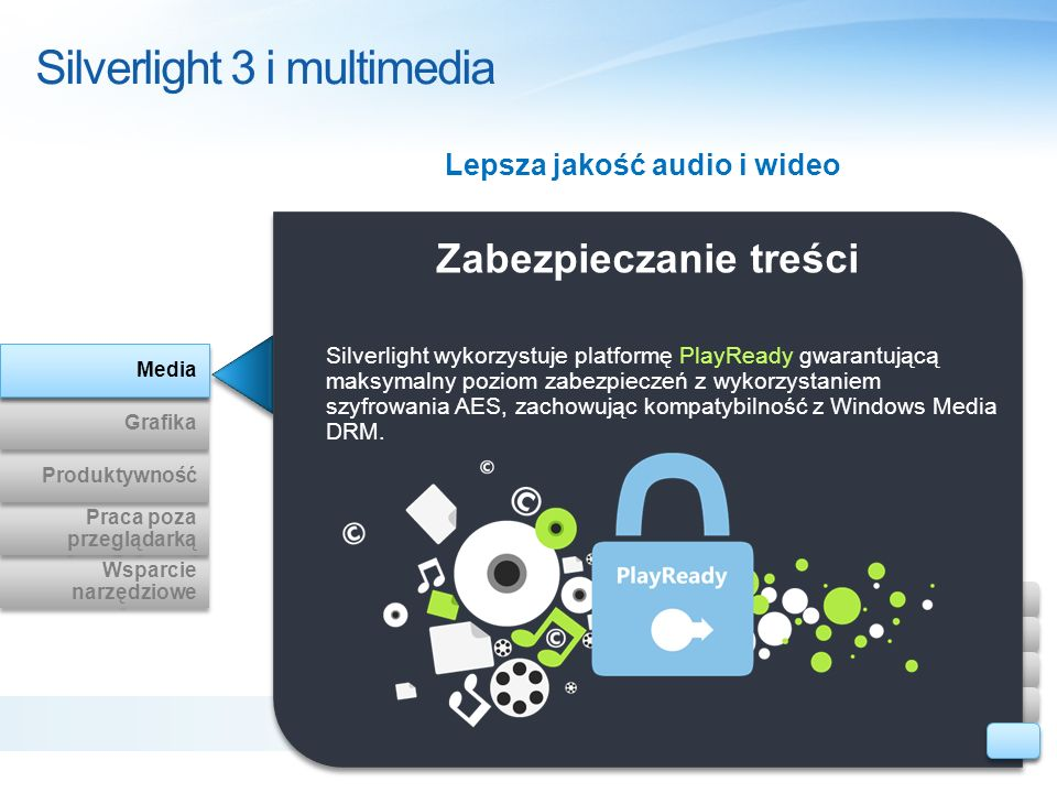 Silverlight 3 i multimedia