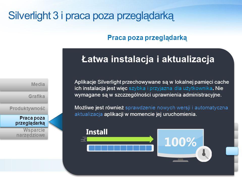 Silverlight 3 i praca poza przeglądarką