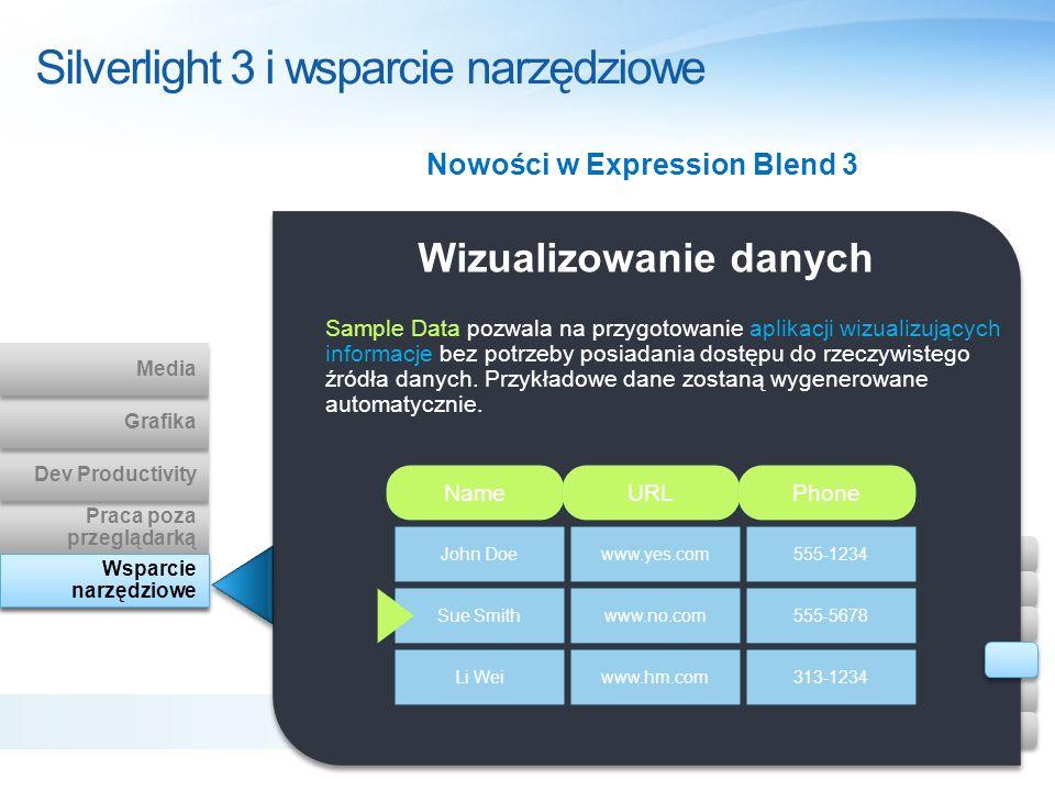 Silverlight 3 i wsparcie narzędziowe