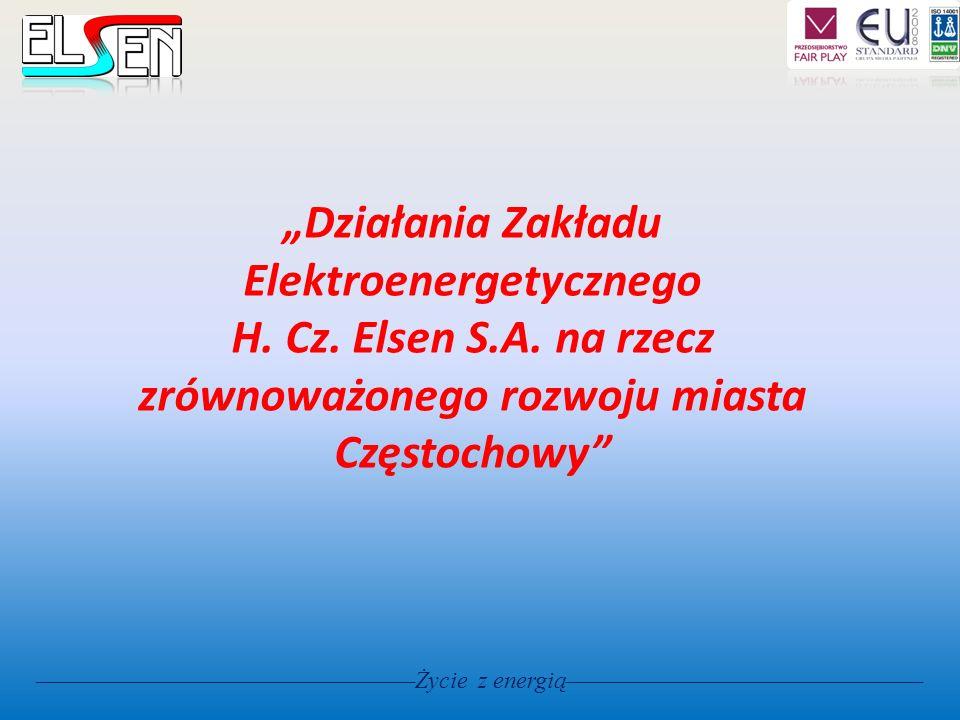 """""""Działania Zakładu Elektroenergetycznego H. Cz. Elsen S. A"""