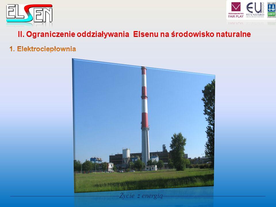 II. Ograniczenie oddziaływania Elsenu na środowisko naturalne