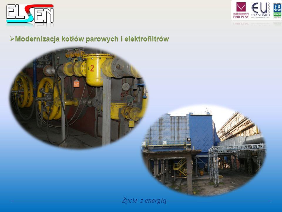 Modernizacja kotłów parowych i elektrofiltrów
