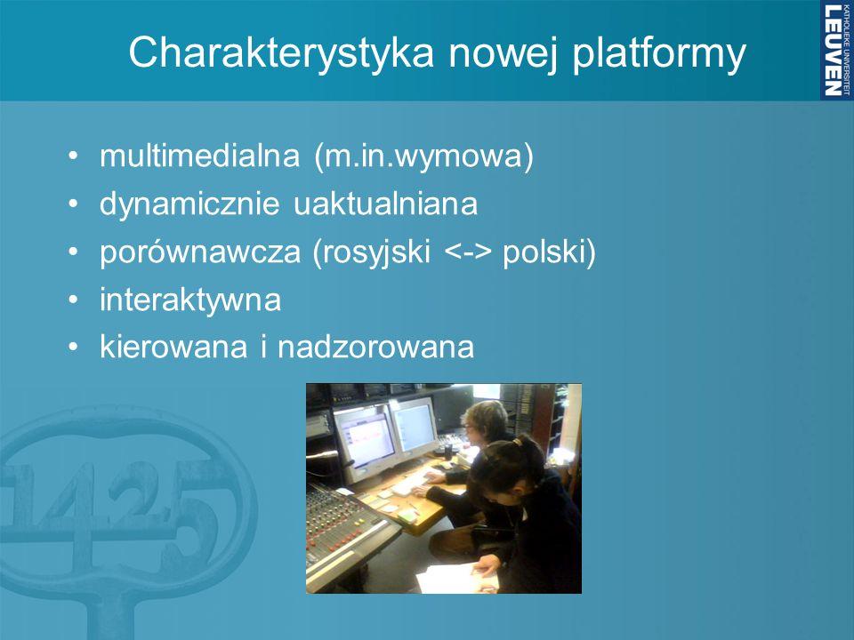 Charakterystyka nowej platformy