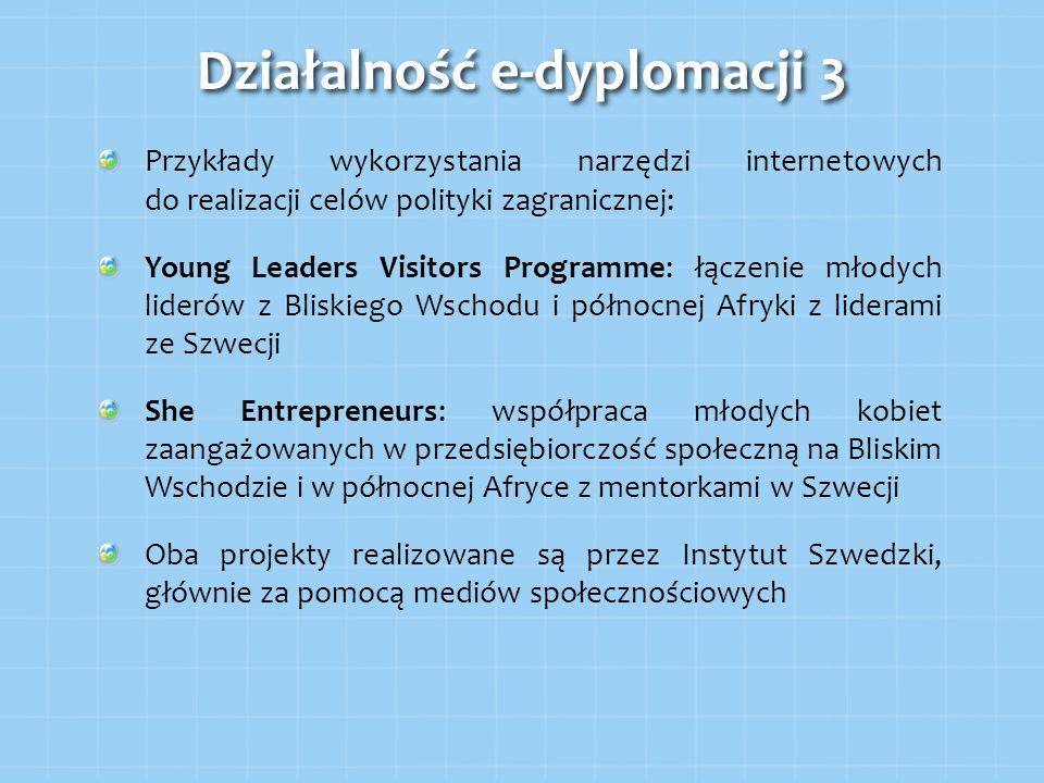 Działalność e-dyplomacji 3
