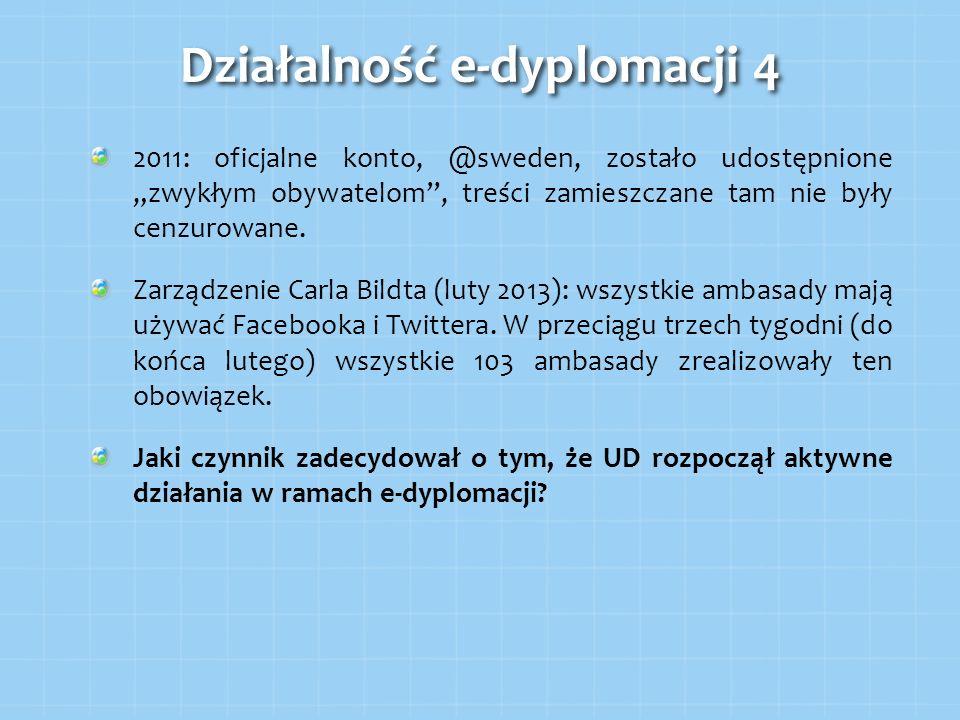 Działalność e-dyplomacji 4