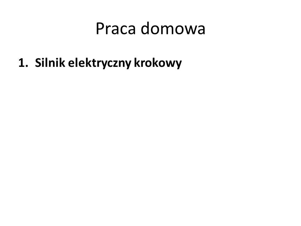 Praca domowa Silnik elektryczny krokowy