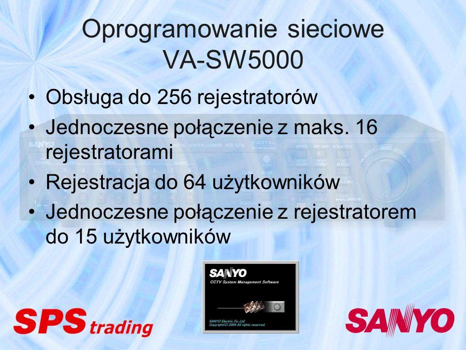 Oprogramowanie sieciowe VA-SW5000