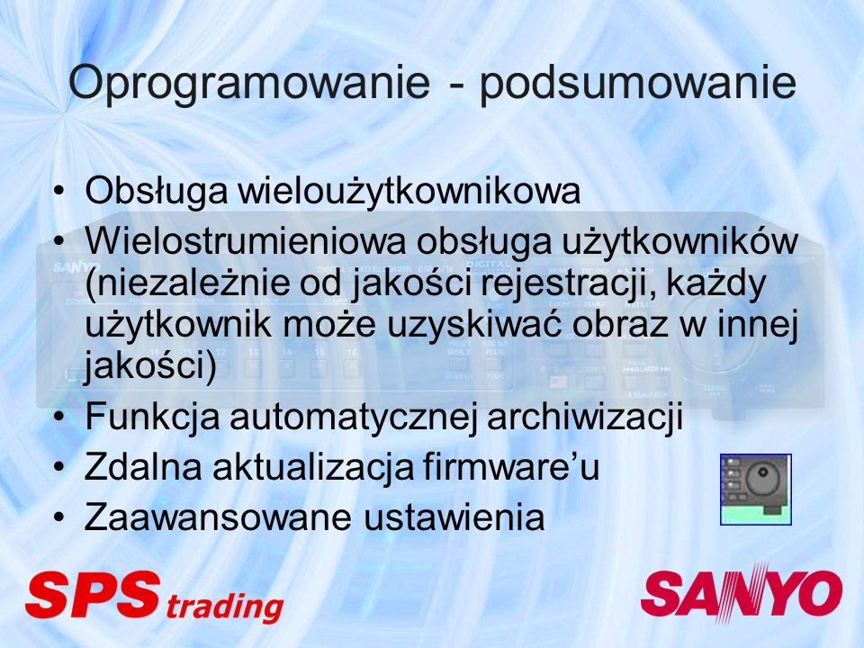Oprogramowanie - podsumowanie