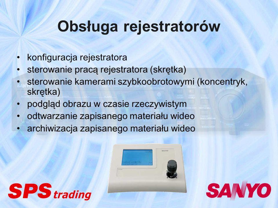 Obsługa rejestratorów