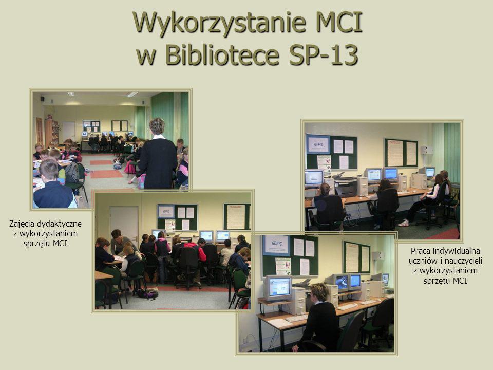 Wykorzystanie MCI w Bibliotece SP-13