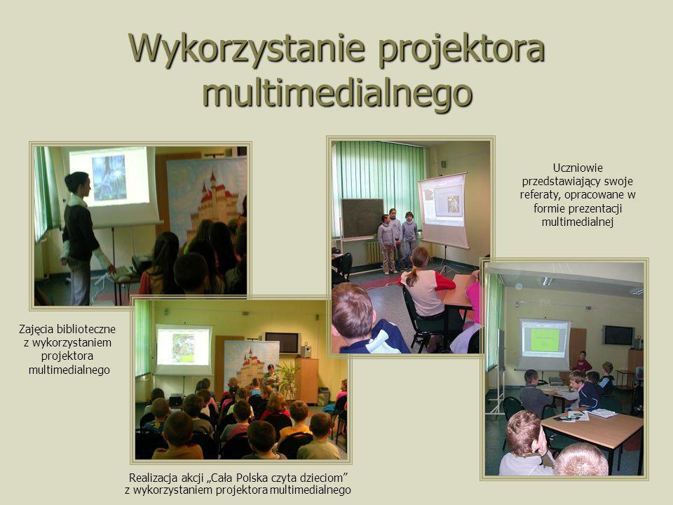 Wykorzystanie projektora multimedialnego