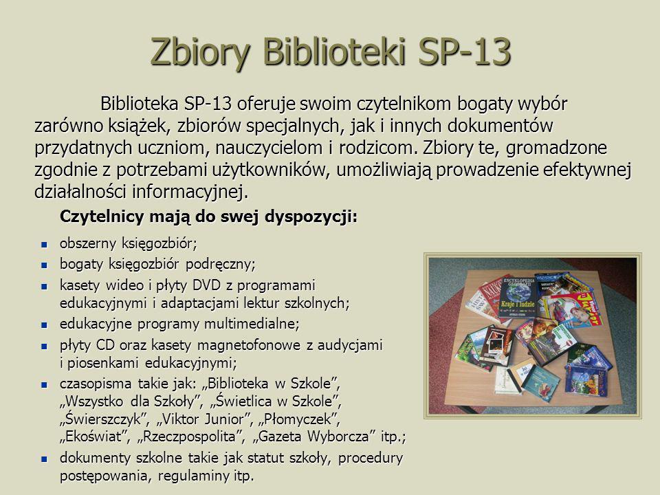 Zbiory Biblioteki SP-13