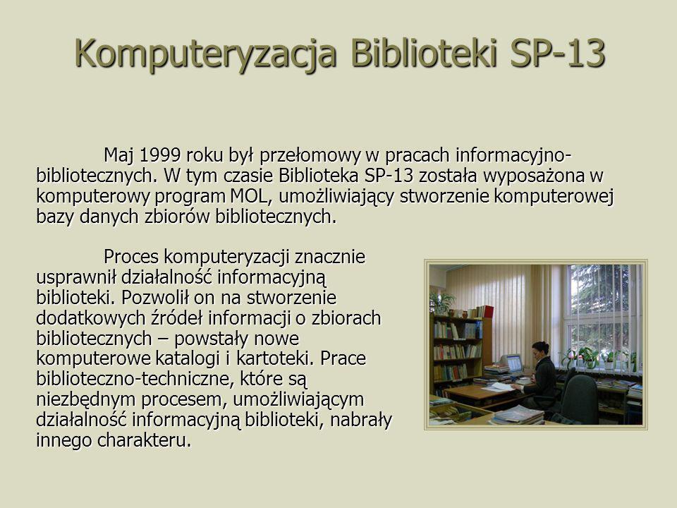 Komputeryzacja Biblioteki SP-13