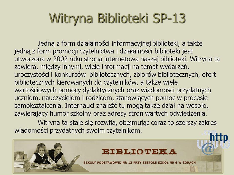 Witryna Biblioteki SP-13