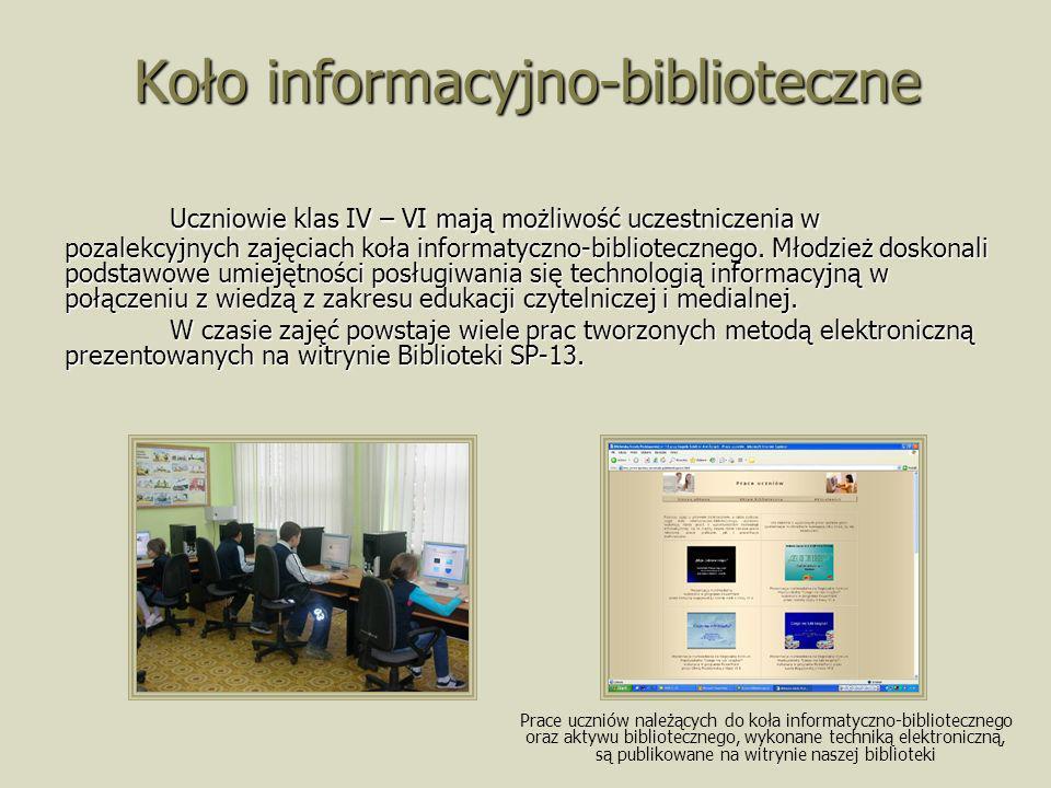 Koło informacyjno-biblioteczne