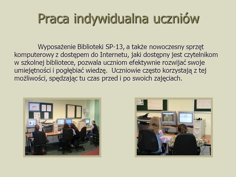 Praca indywidualna uczniów