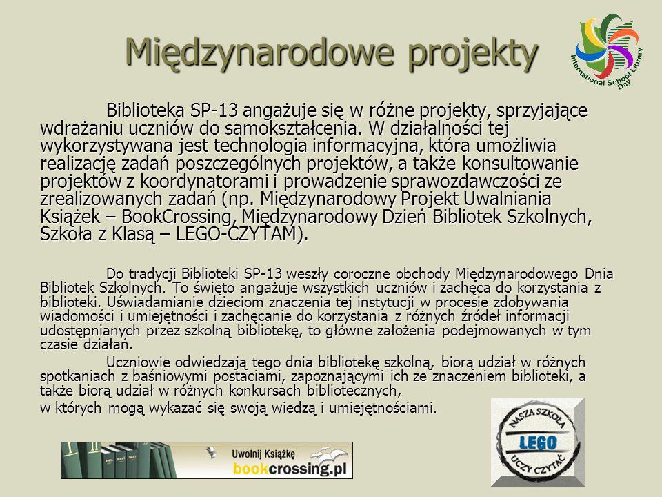 Międzynarodowe projekty