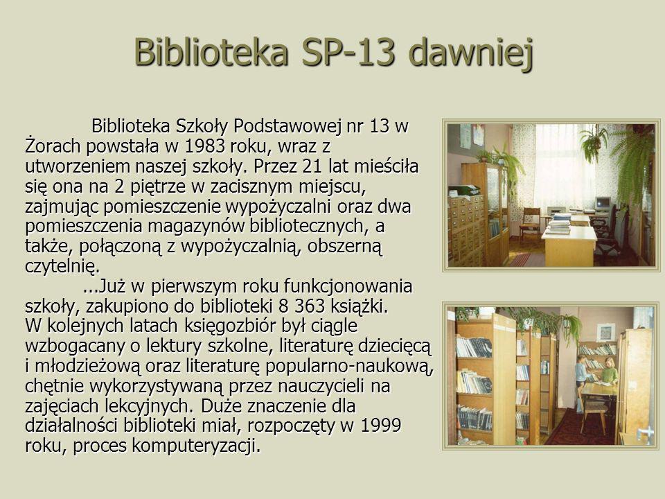 Biblioteka SP-13 dawniej