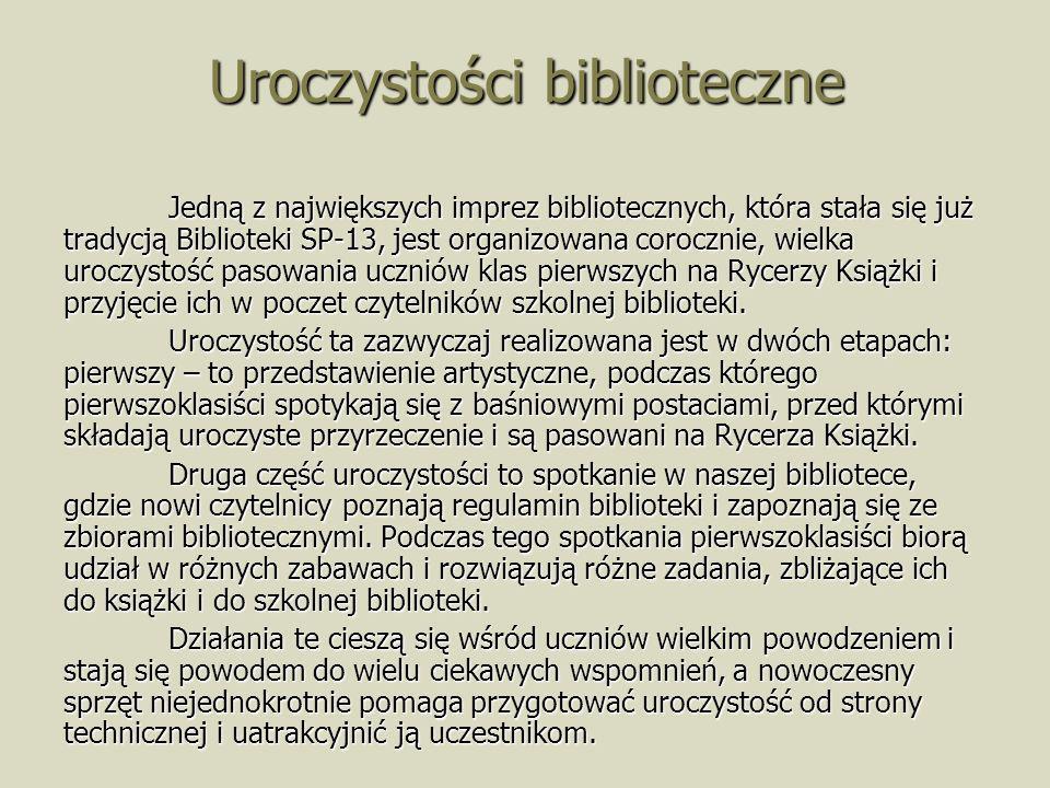 Uroczystości biblioteczne