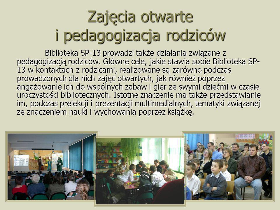 Zajęcia otwarte i pedagogizacja rodziców