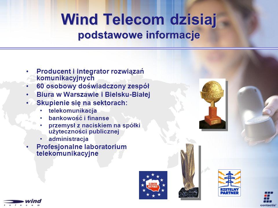 Wind Telecom dzisiaj podstawowe informacje