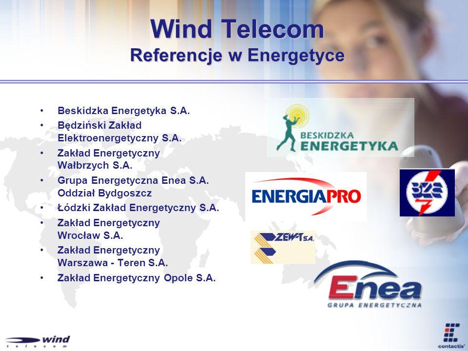 Wind Telecom Referencje w Energetyce