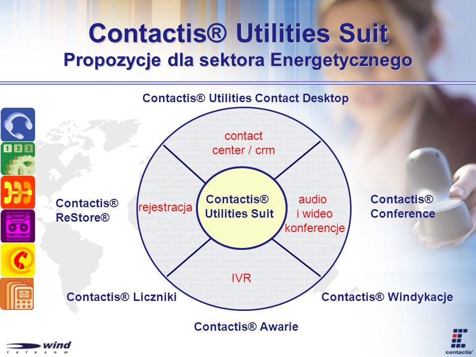 Contactis® Utilities Suit Propozycje dla sektora Energetycznego