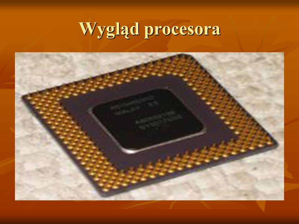 Wygląd procesora