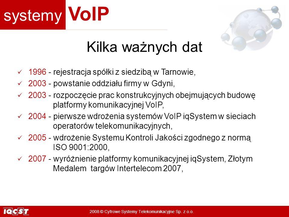 Kilka ważnych dat 1996 - rejestracja spółki z siedzibą w Tarnowie,