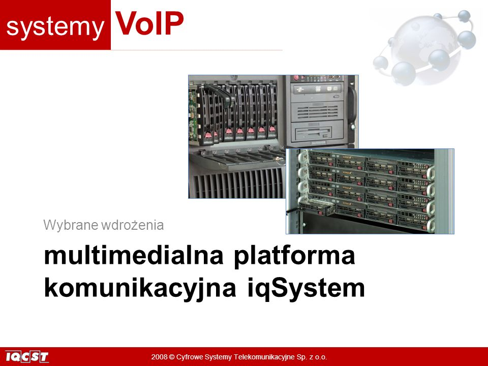 multimedialna platforma komunikacyjna iqSystem