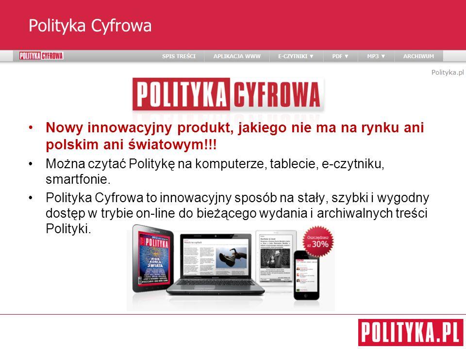 Polityka Cyfrowa Nowy innowacyjny produkt, jakiego nie ma na rynku ani polskim ani światowym!!!