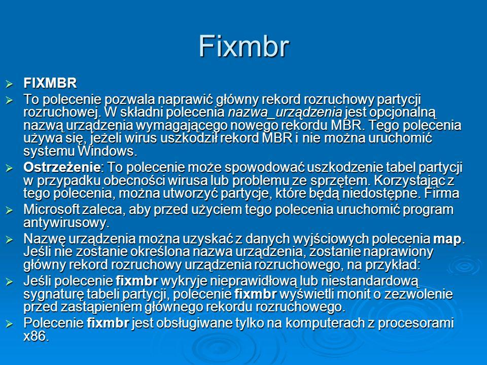 Fixmbr FIXMBR.