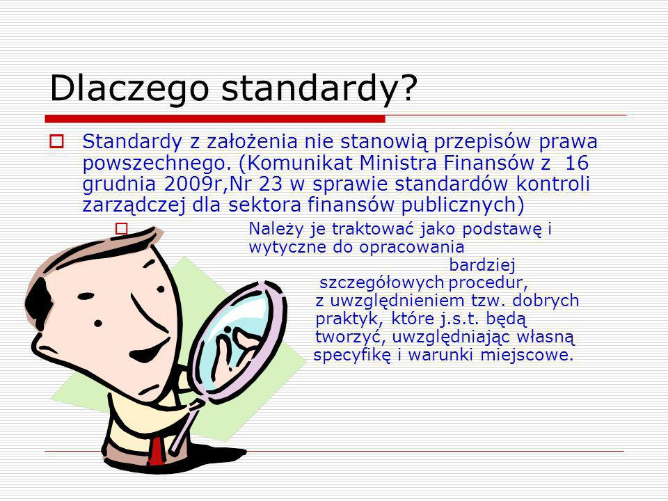 Dlaczego standardy