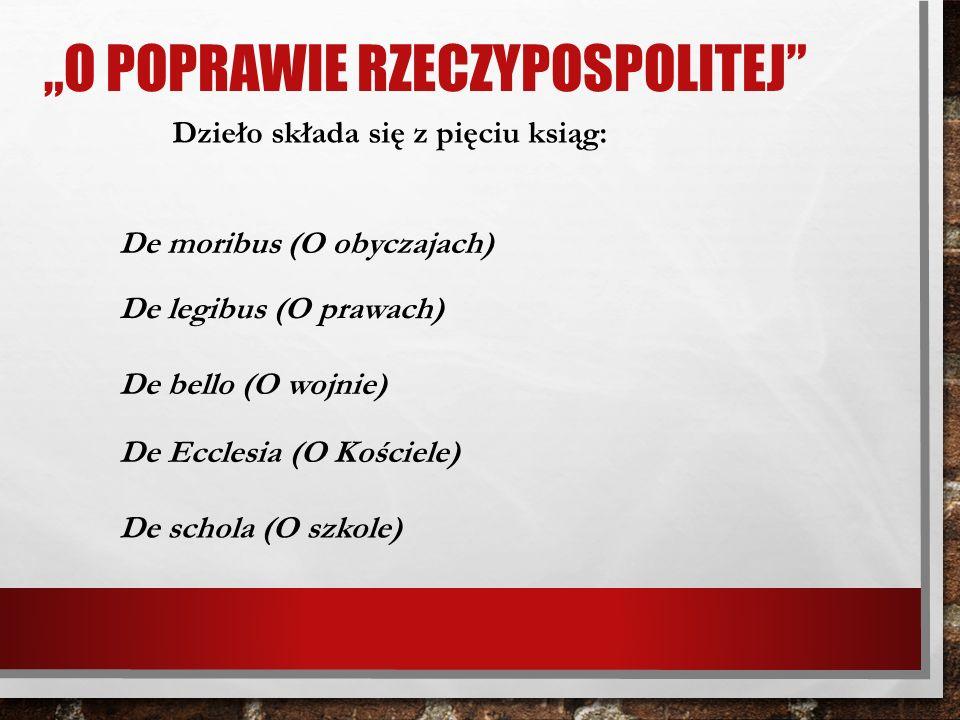 """""""O poprawie Rzeczypospolitej"""