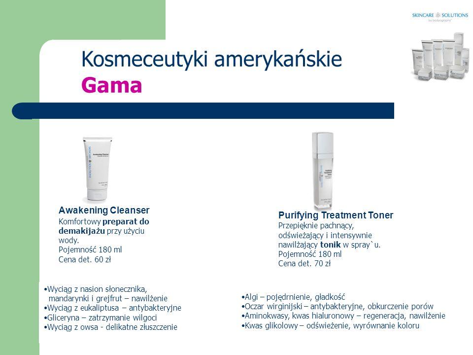 Kosmeceutyki amerykańskie Gama