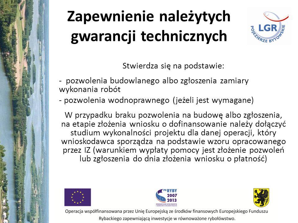 Zapewnienie należytych gwarancji technicznych